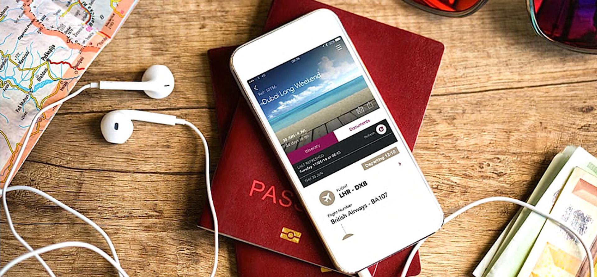 digital itineraries